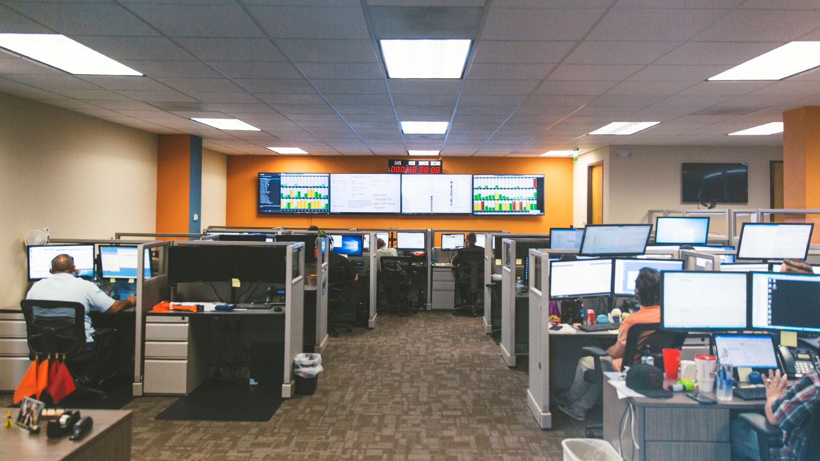 customer support control center